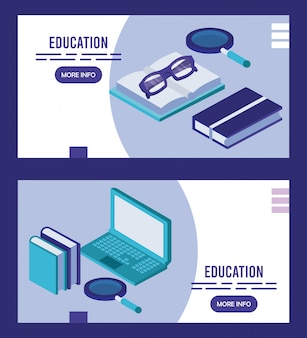 Edukacja laptopów i książek online technologia