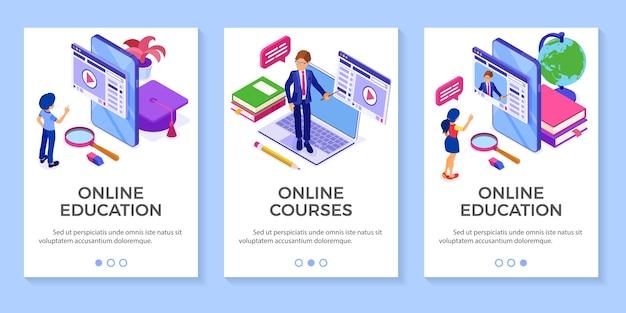 Edukacja online lub egzamin na odległość z nauczycielem