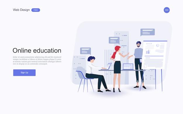 Edukacja online, szkolenia i kursy, nauka.