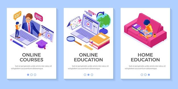 Edukacja online w domu lub egzamin na odległość o charakterze izometrycznym