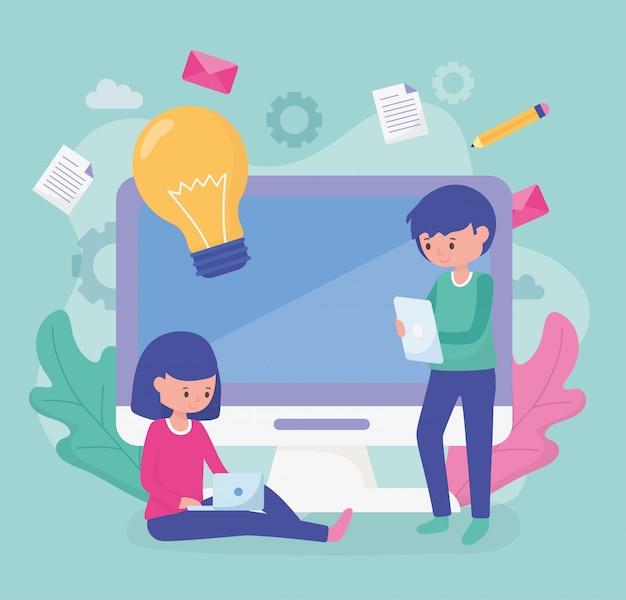 Edukacja szkolna uczniów online