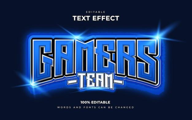 Edytowalne efekty tekstowe 3d dla graczy