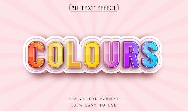 Edytowalne kolory tekstu w stylu tekstu