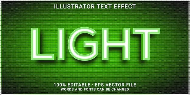 Edytowalny efekt tekstowy 3d - lekki styl