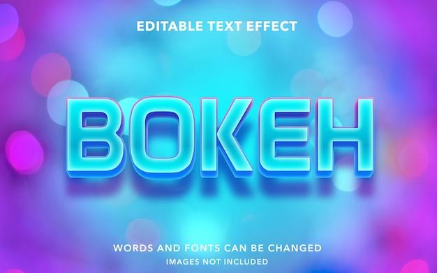 Edytowalny efekt tekstowy dla bokeh