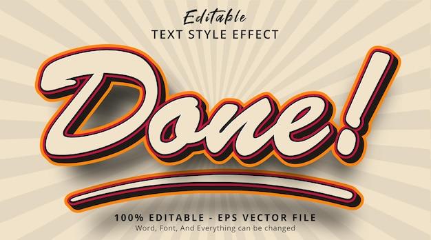 Edytowalny efekt tekstowy, gotowy tekst z popularnym efektem kombinacji kolorów