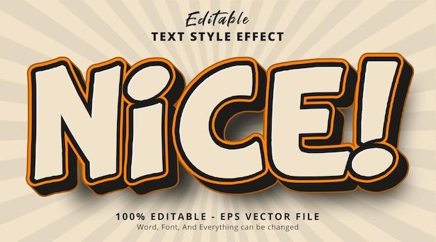 Edytowalny efekt tekstowy, ładny tekst na ładnie vintage efekt stylu koloru