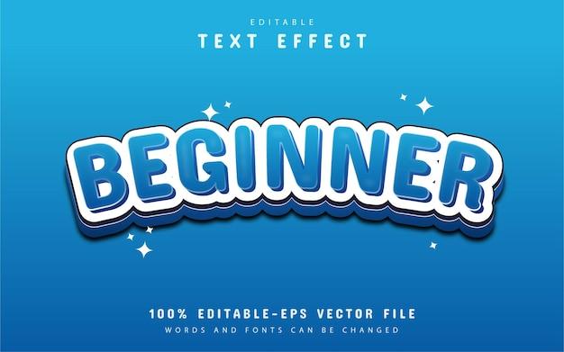 Edytowalny efekt tekstowy - początkujący