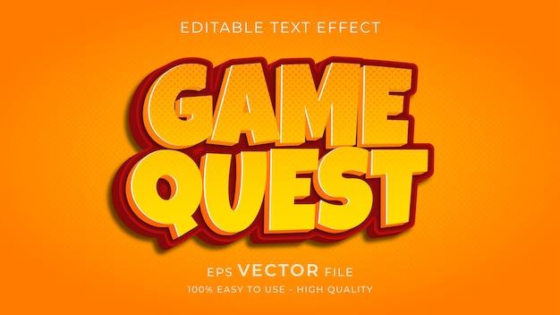 Edytowalny efekt tekstowy premium