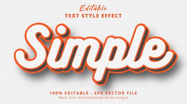 Edytowalny efekt tekstowy, prosty tekst na efekt płynnego stylu kolorów