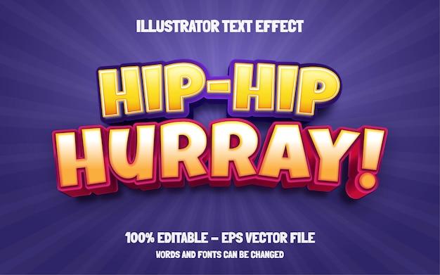 Edytowalny efekt tekstowy, styl hip hop hip hop