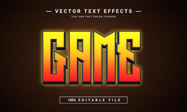 Edytowalny efekt tekstowy w grze