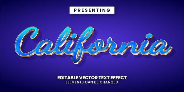 Edytowalny efekt tekstowy w luksusowym złotym stylu