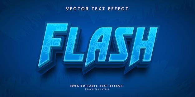 Edytowalny efekt tekstowy w stylu flash