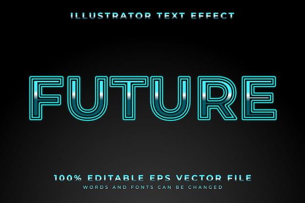 Edytowalny efekt tekstowy