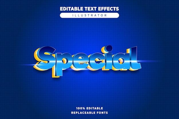 Edytowalny specjalny efekt tekstowy