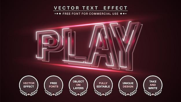Edytowalny styl czcionki flash play edytuj efekt tekstowy