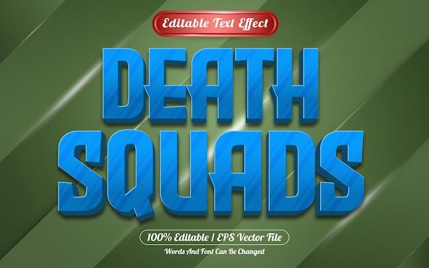 Edytowalny styl gry szwadronów śmierci