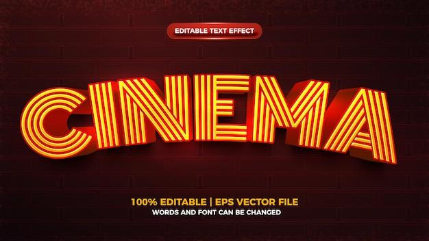 Edytowalny szablon efektu tekstowego ładowania elektrycznego