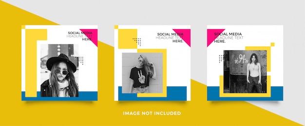 Edytowalny szablon wiadomości banery społecznościowe dla marketingu cyfrowego.