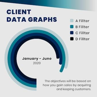 Edytowalny szablon wykresu analizy biznesowej