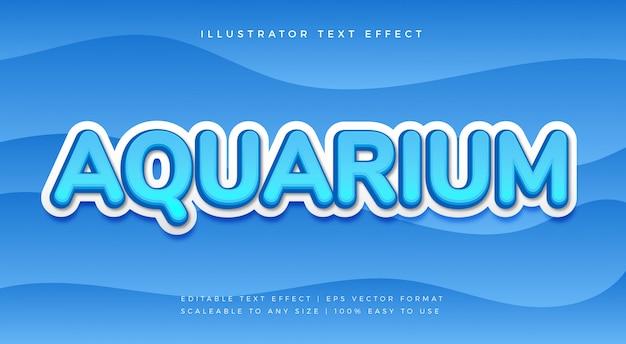 Efekt czcionki blue aqua text style
