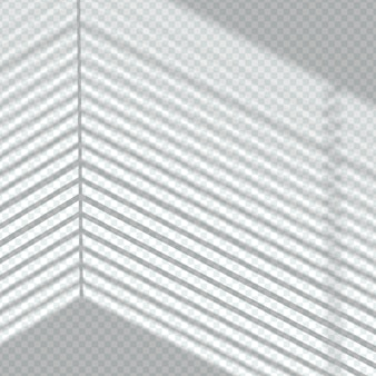 Efekt nakładania przezroczystych linii cienia