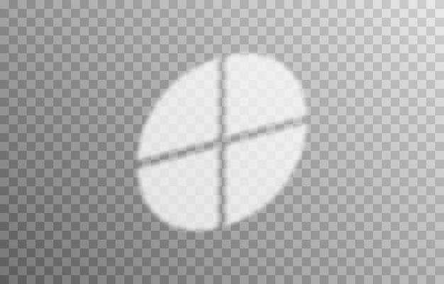 Efekt nakładania się cieni z różnych typów okien