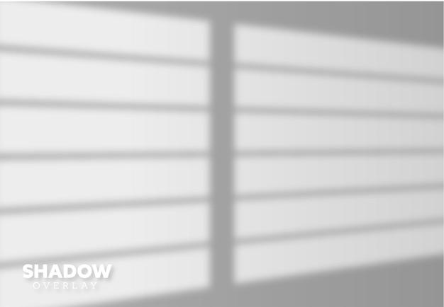 Efekt nakładki cieni na okno