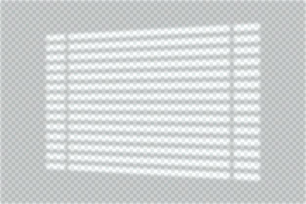 Efekt nakładki cienia w transparentnej koncepcji