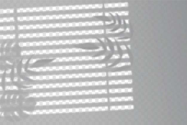 Efekt nakładki przezroczystych cieni