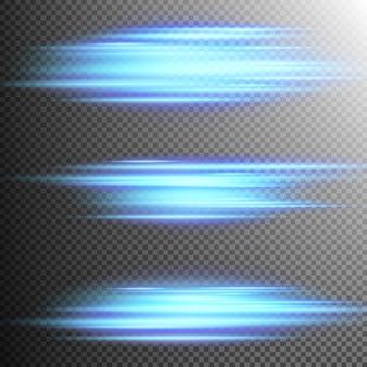 Efekt niebieskich świateł soczewka.