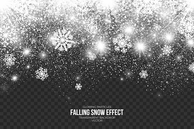 Efekt padającego śniegu