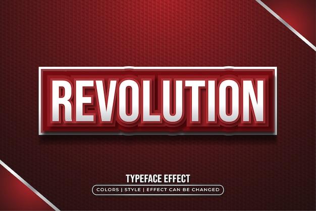 Efekt pogrubienia czerwonego tekstu