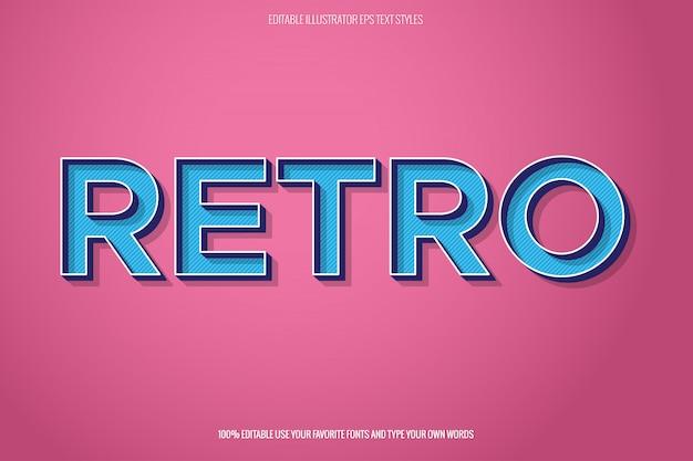 Efekt retro, natychmiastowy efekt tekstowy.