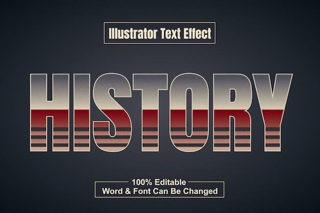 Efekt retro tekstu