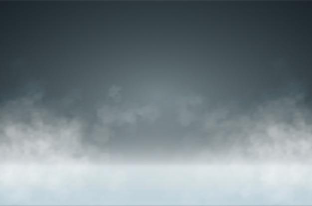 Efekt ssmoke lub mist