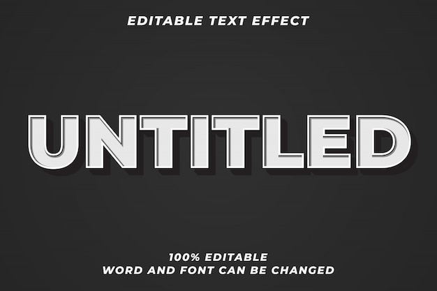 Efekt starego stylu tekstu