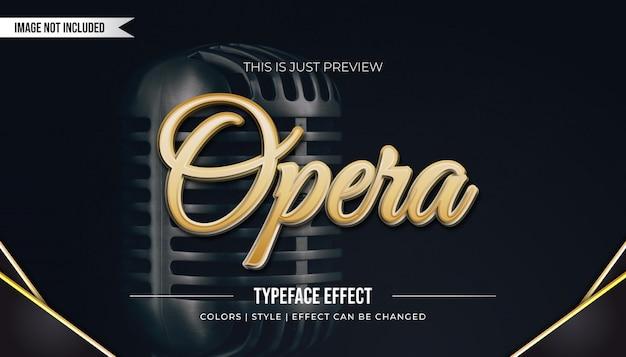 Efekt stylu royal golden text