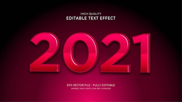 Efekt stylu tekstu 2021.