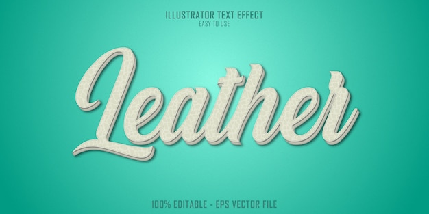 Efekt stylu tekstu 3d tekstury skóry