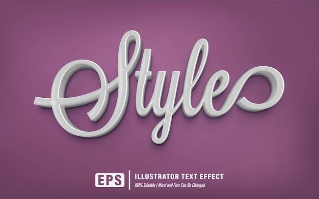 Efekt stylu tekstu - edytowalny