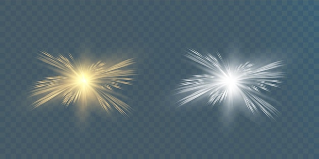 Efekt świetlny blasku