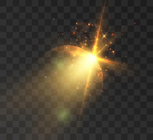 Efekt świetlny gwiazdy