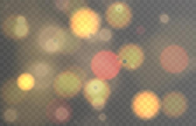 Efekt świetlny z podświetleniem vector