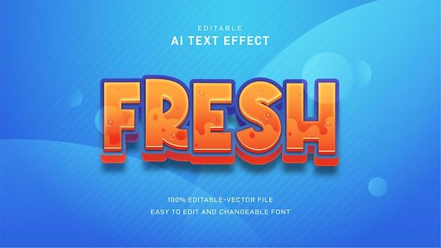 Efekt świeżego tekstu
