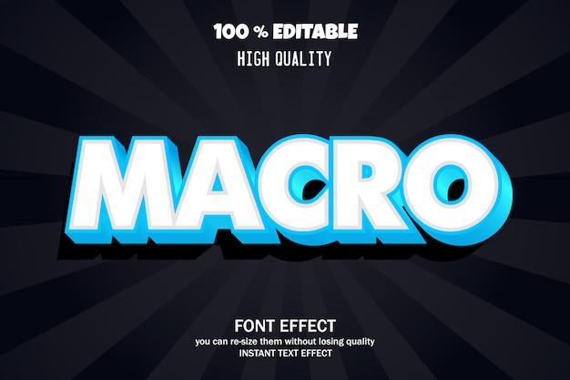 Efekt tekstowy 3d, edytowalna czcionka