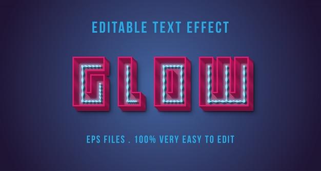 Efekt tekstowy 3d, tekst edytowalny
