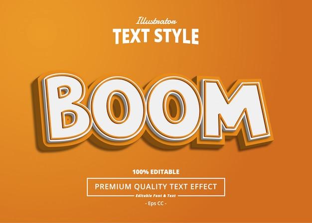 Efekt tekstowy bomu
