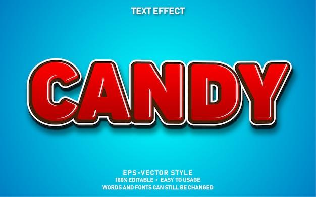 Efekt tekstowy candy